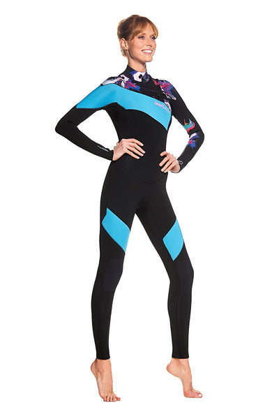 Available In Early April: Bloom 3/2 Fully Taped GBS Chest Zip Full Suit