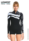 Essential 2 MM Long Sleeve Front Zip GBS Springsuit