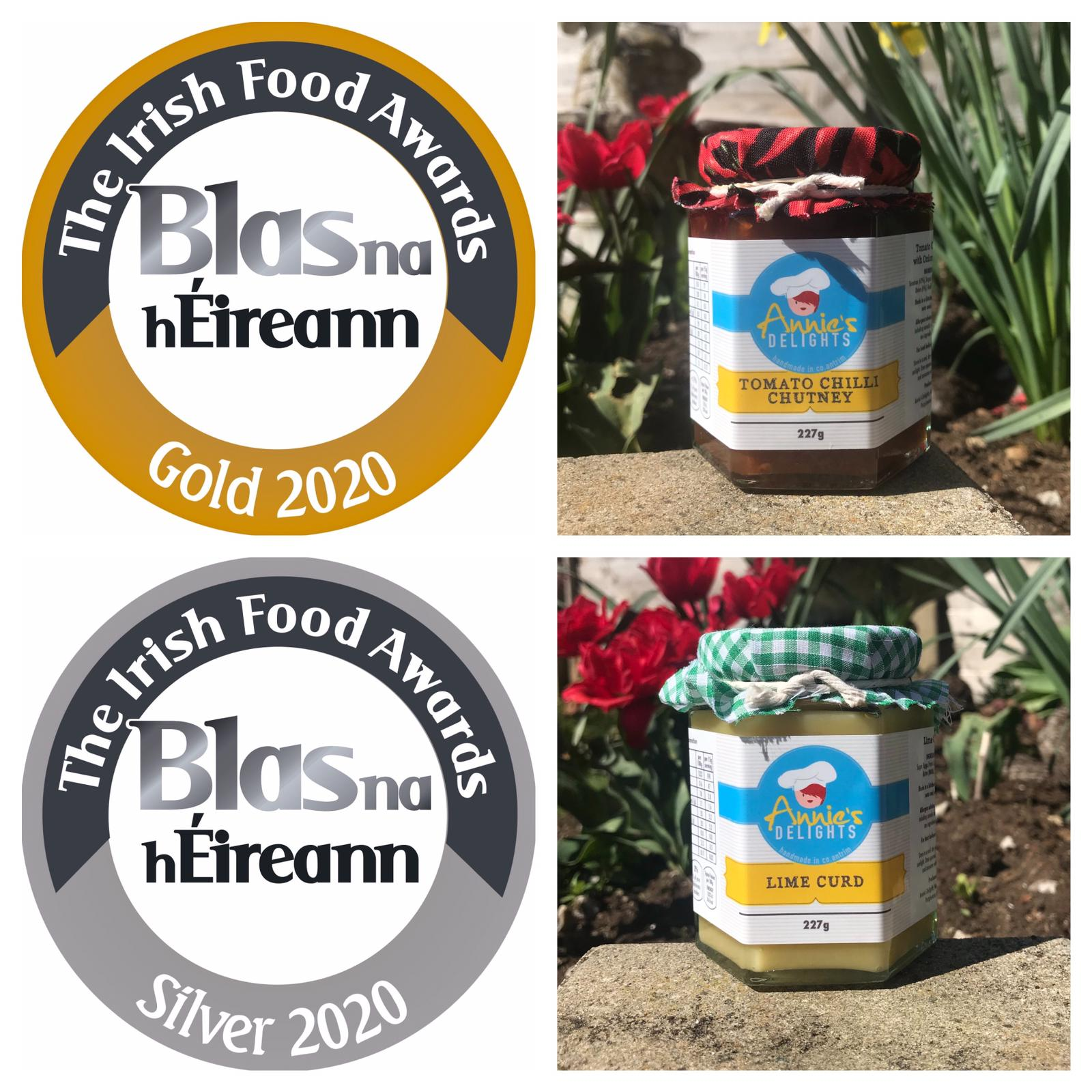 Success at Blas na hEireann (Irish Food Awards)