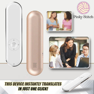 ClickTalk 50+ 2-Way Voice Translator