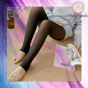 Faux Winter Nude Fleece Leggings