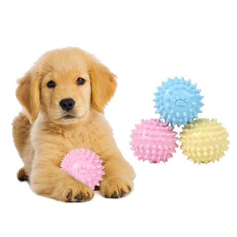 1pc Dog Play Toy Balls Chew Molar Tooth Cleaning Toys for Pet Chew Toy Puppy Chew Toys Tool Pet Supplies