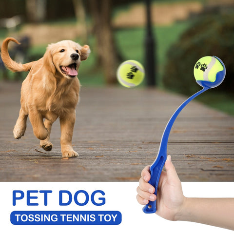 Puppy Dog Throwing Ball Throwing Club Pet Dog Throwing Toy Ball Launcher Puppy Toys