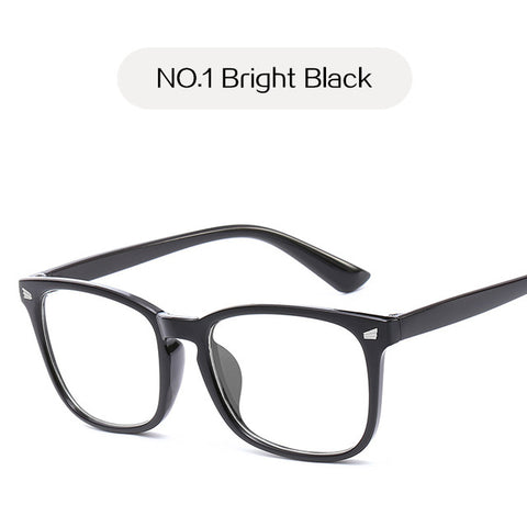 UVLAIK Blue Light Glasses Men Computer Glasses Gaming Goggles Transparent Eyewear Frame Women Anti Blue ray Eyeglasses