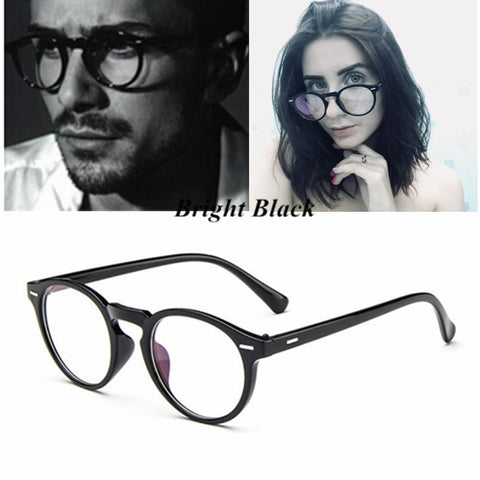 Kottdo 2018 Vintage Retro Round Eyeglasses Frame Women Prescription Glasses Men Optical Eye Glasses Frame Eyewear Glasses Frame