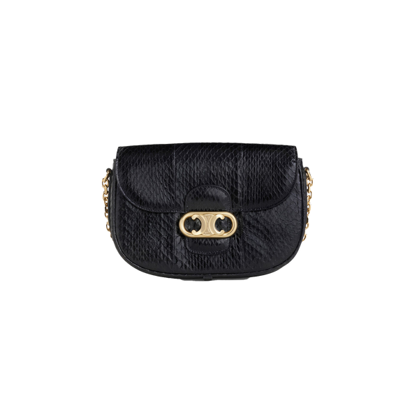 MEDIUM CHAIN MAILLON TRIOMPHE BAG IN WATERSNAKE
