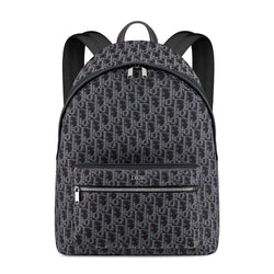 BLUE DIOR OBLIQUE JACQUARD RIDER BACKPACK