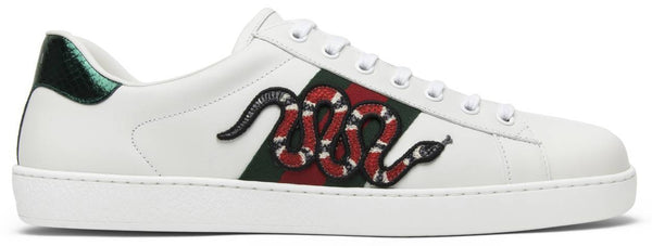 Ace Embroidered 'Snake'