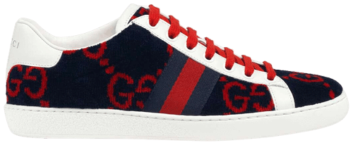 Wmns Ace GG Terry Cloth 'Blue Red'