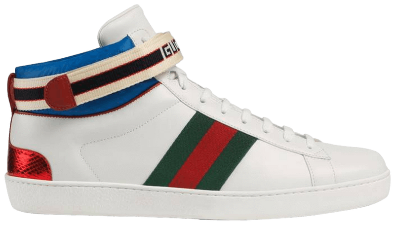 "Stripe Ace High Top ""White"""