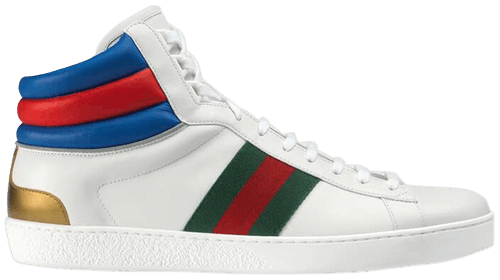Ace High Top 'White'
