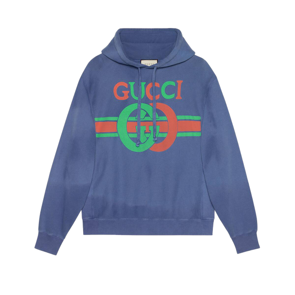 Sweatshirt with Interlocking G print