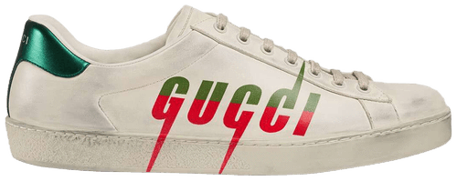 Ace 'Gucci Blade - Distressed White'