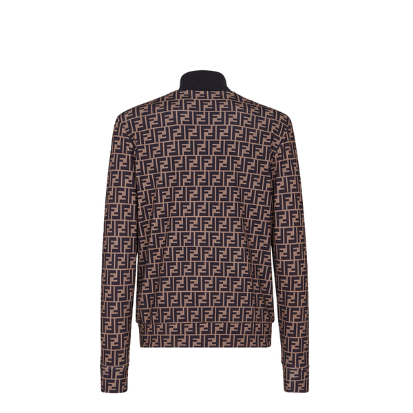 Brown fleece jumper