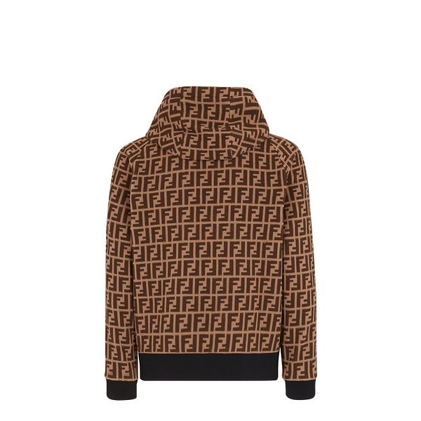 Brown fabric sweatshirt