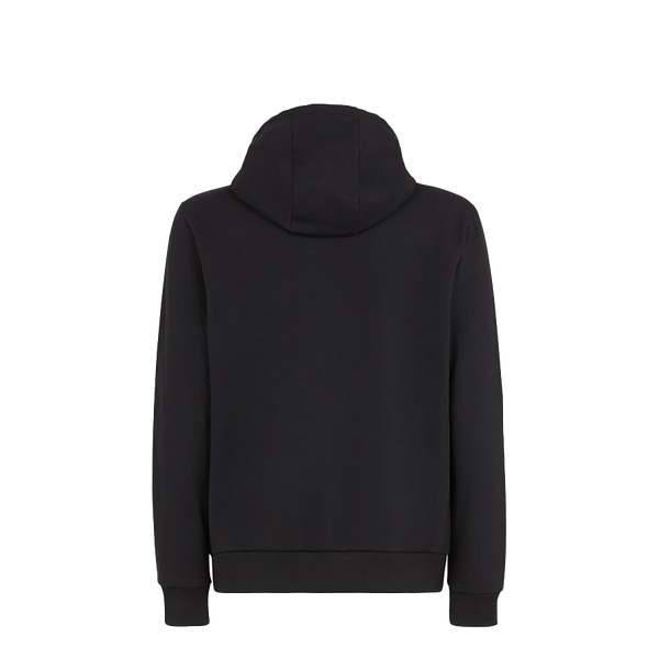 Black cotton jersey jumper