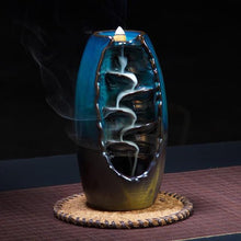 Load image into Gallery viewer, Mountain Waterfall Incense Burner
