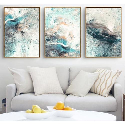 Abstract Canvas Paintings Room Decoration - Painting/Poster