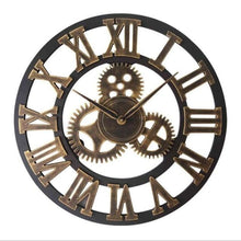 Load image into Gallery viewer, Roman Style Large Wall Clock Gold Silver Bronze - Bronze Roman / 30cm