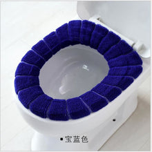 Load image into Gallery viewer, Soft Heated Washable Toilet Seat Multiple colours - Navy