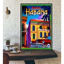 Load image into Gallery viewer, World City Tour Travel Posters - 40X60 CM No Frame / Cuba Havana