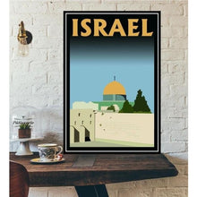 Load image into Gallery viewer, World City Tour Travel Posters - 40X60 CM No Frame / Dome of the Rock