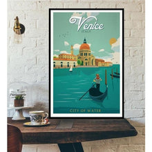Load image into Gallery viewer, World City Tour Travel Posters - 40X60 CM No Frame / Venice City of Water