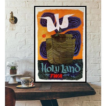 Load image into Gallery viewer, World City Tour Travel Posters - 40X60 CM No Frame / Visit Israel Holy La