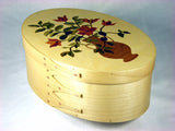 Marquetry Maple Shaker Box