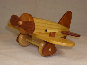 Wood Airplane Maple, Mohogany, Cherry