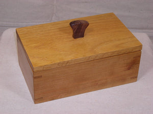Cherry Continuous Grain Treasure Box