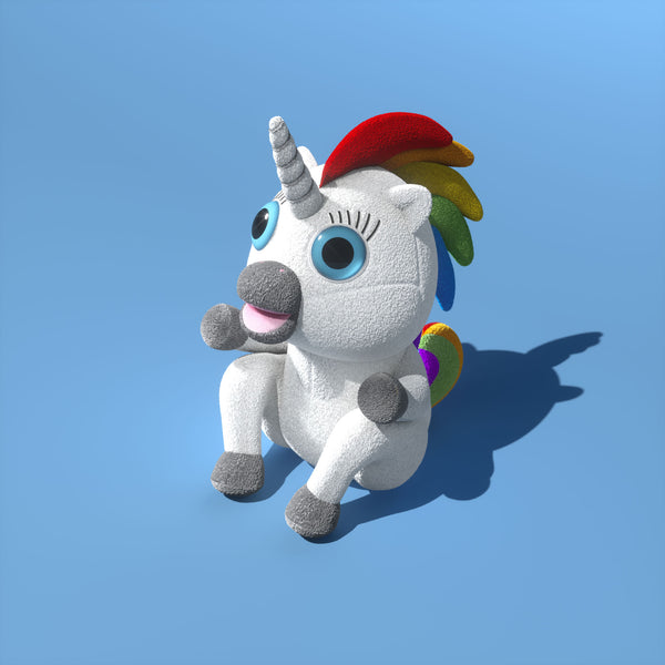 $5 (reg $20) Squatty Potty Dookie™ Plush Unicorn
