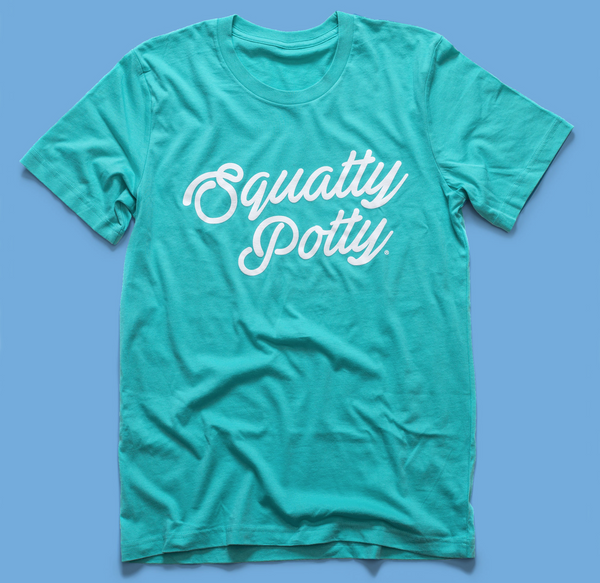 Squatty Potty Text T-Shirt