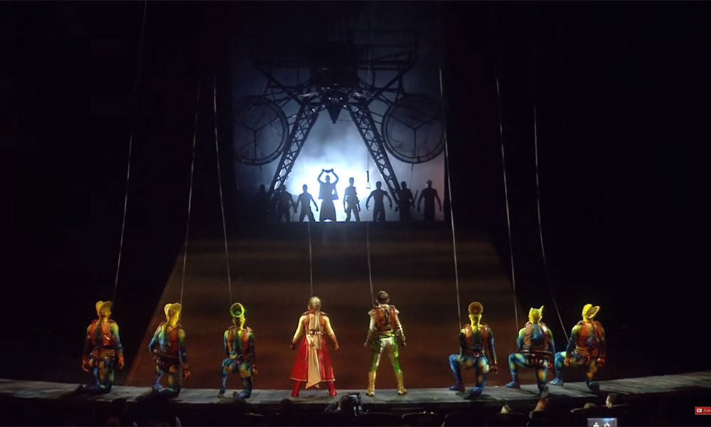 Cirque Du Soleil Online Performance | Flashpacker Chronicles