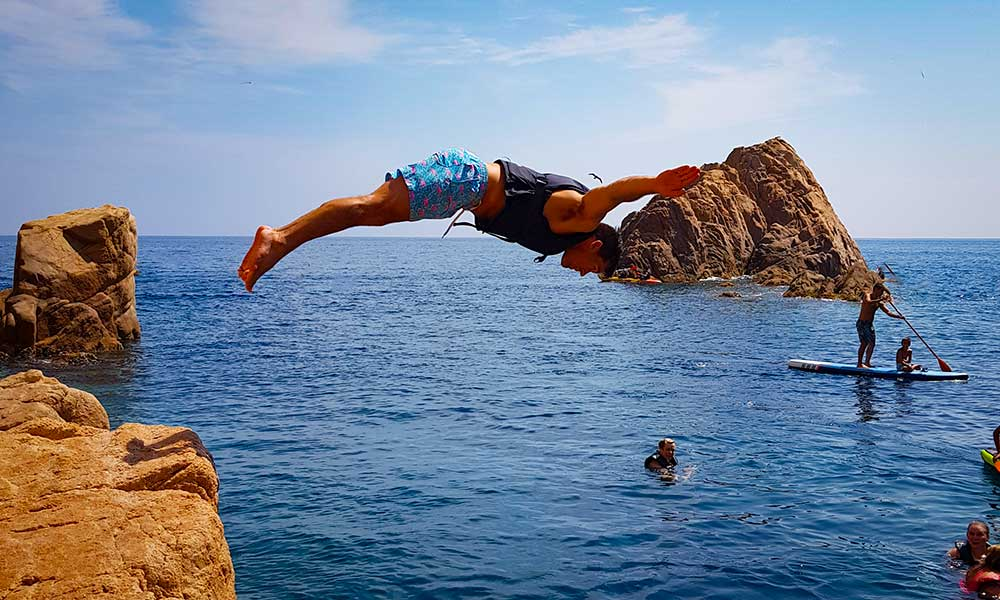 Cliff Diving at Costa Brava | Adventure Travel | Spain
