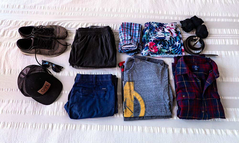 Clothing Essentials | Ultimate Travel Checklist