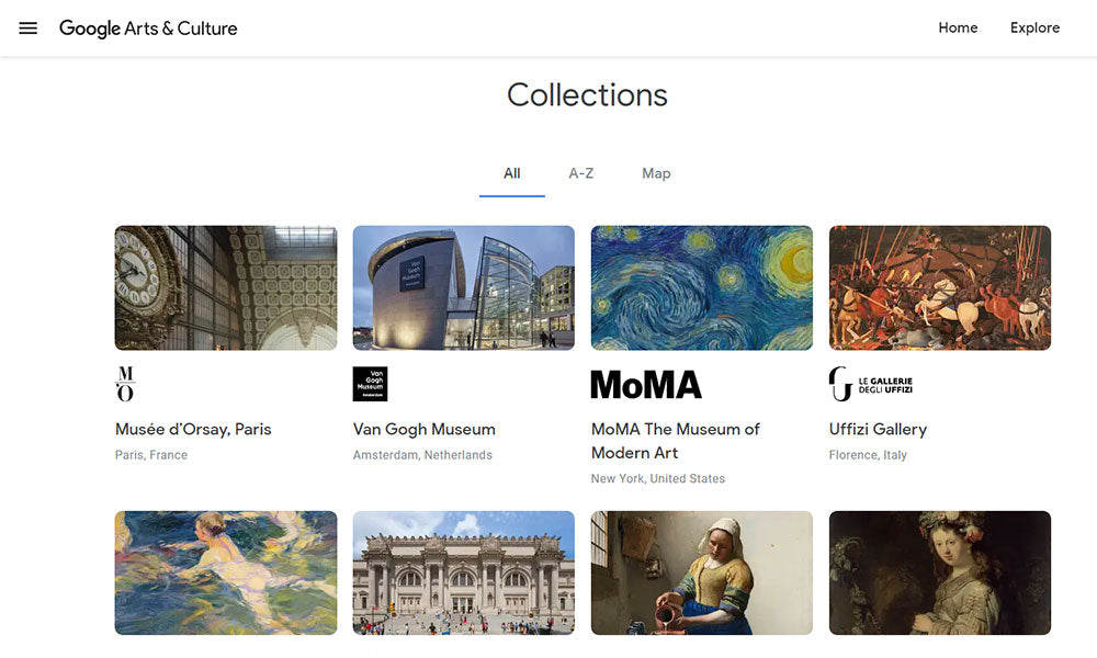 Google Arts and Culture Collection | Explore During Quarantine | Flashpacker Blog