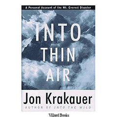 Into Thin Air | Best Travel Books to Read During Covid