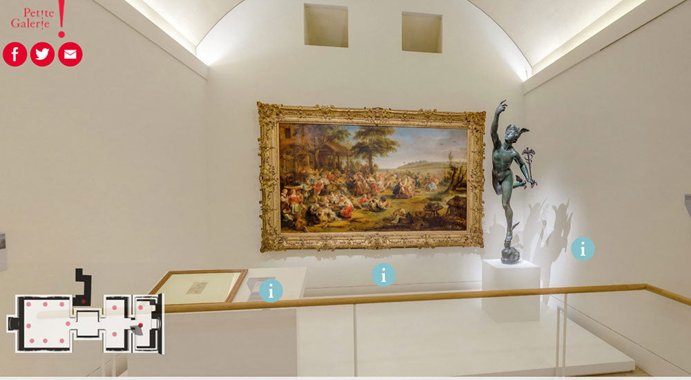 Louvre Virtual Tour | Flashpacker Chronicles