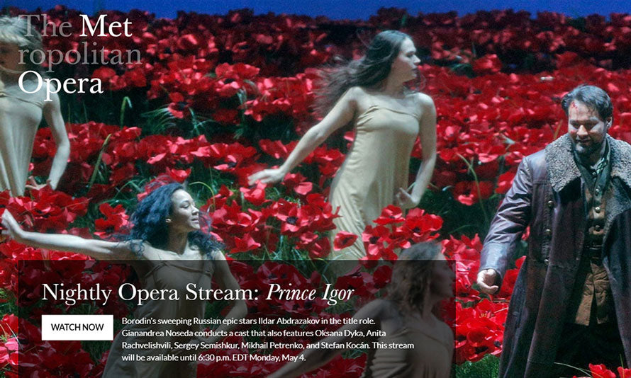 Metropolitan Opera Online | Flashpacker Chronicles