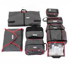 Onli Travel 8 Piece Packing Cubes Set   Packing Accessories