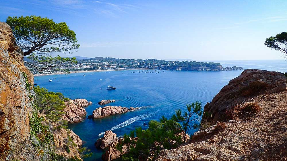 Costa Brava | Sandstone Coastline | Ocean Views