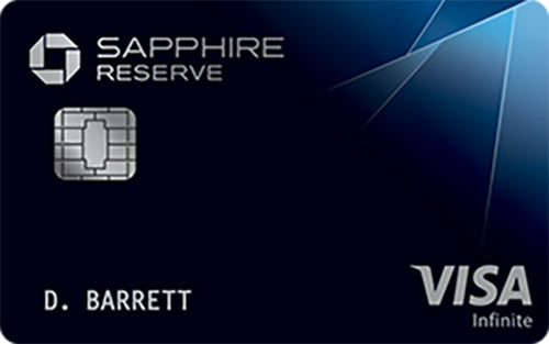 Top Travel Credit Cards-Chase Sapphire Reserve