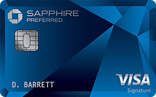 Top Travel Credit Cards-Chase Sapphire Preferred