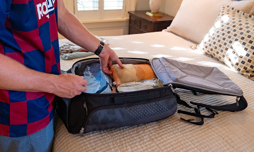Testing Tripped Travel Packing Cubes