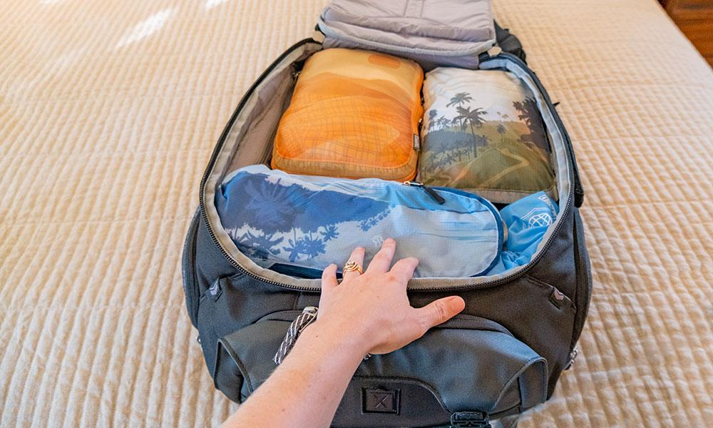 Save Space with Tripped Travel Packing Cubes