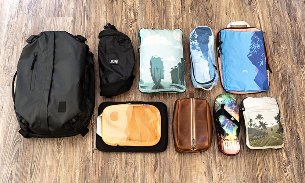 Tripped Travel Compression Packing Cubes Product Review