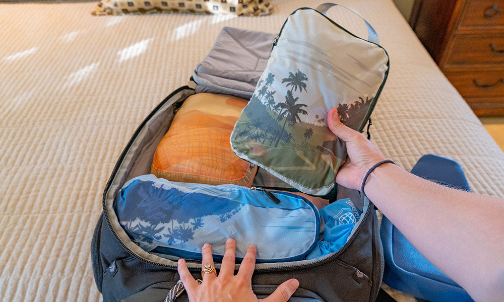 Tripped Travel Compression Packing Cubes   Do Packing Cubes Save Space