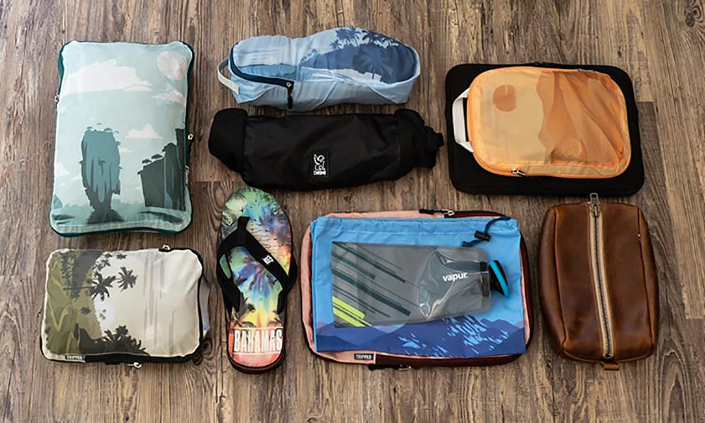 10 Reasons to Use Tripped Travel Gear Compression Packing Cubes