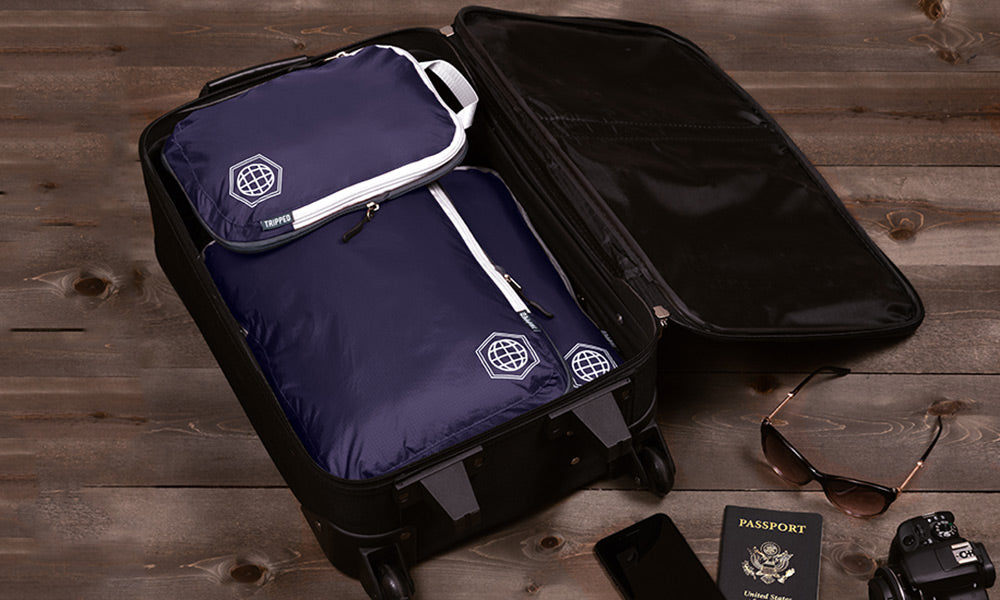 Tripped Travel Compression Packing Cubes | Best Packing Cubes